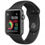 Часы Apple Watch Series 2 42mm Black with Sport Band