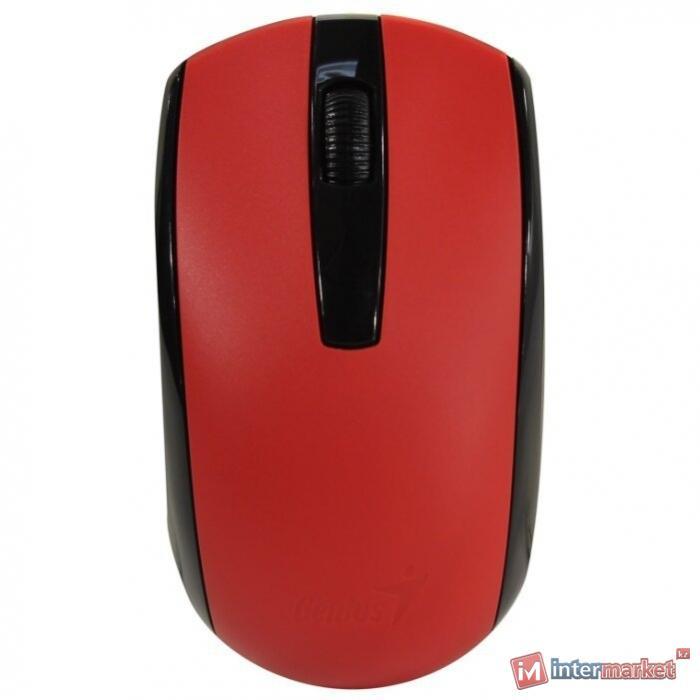 Беспроводная оптическая мышь Genius ECO-8100 Red 31030004403