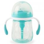Бутылочка Happy Baby Anti-Colic Baby Bottle антиколиковая с ручками и силиконовой соской 180 мл Mint