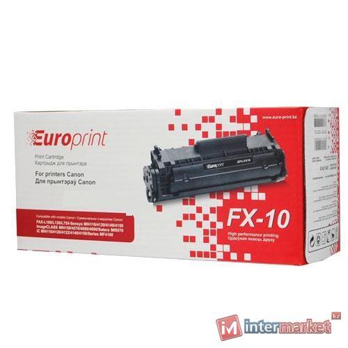 Картридж Europrint EPC-FX10 black