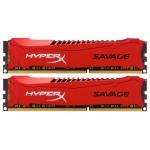 Комплект модулей памяти Kingston HyperX Savage HX321C11SRK2/8, DDR3, 8 GB