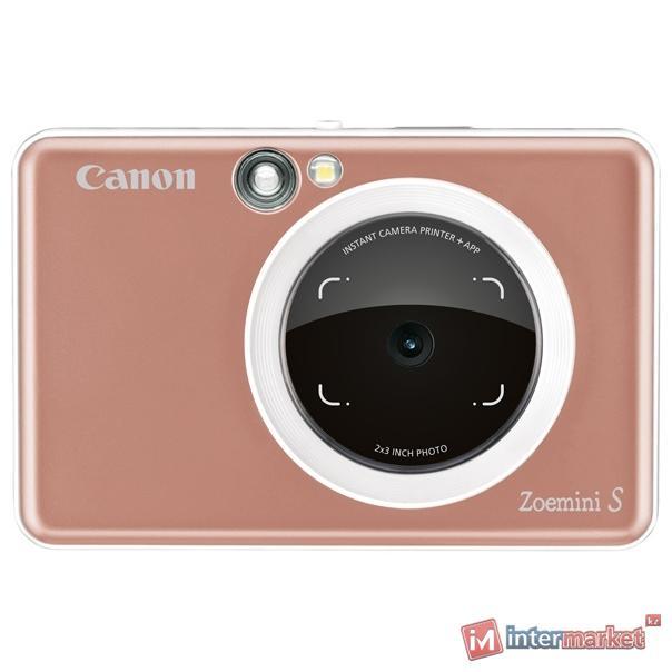 Фотоаппарат моментальной печати CANON Zoemini S (ZV-123-RG) ROSE GOLD