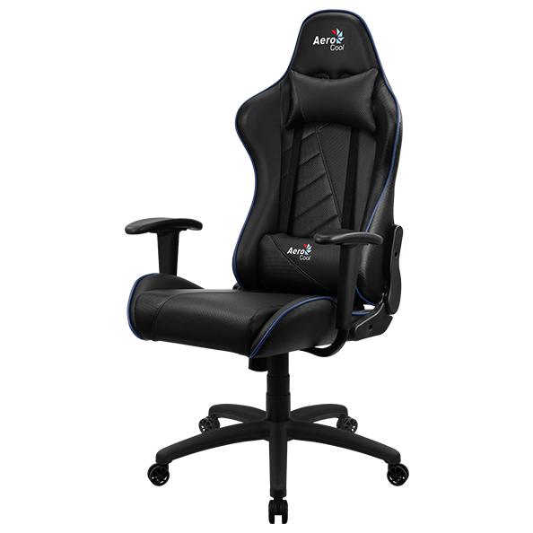 Компьютерное кресло AeroCool AC110 AIR игровое, черно-синее
