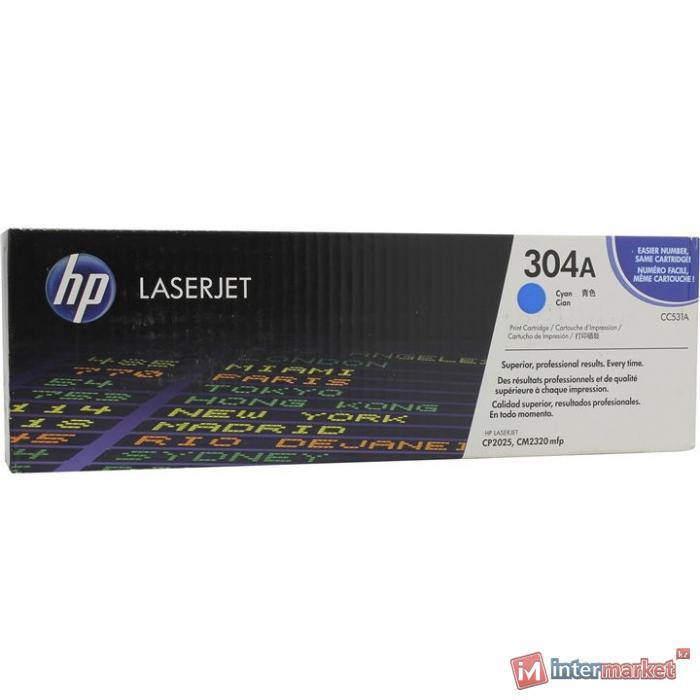 Оригинальный картридж HP CC531A