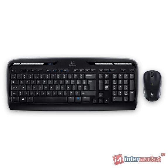 Клавиатура и мышь Logitech Wireless Combo MK330