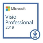 Microsoft Visio Professional 2019 Win All Languages Online Product Key License 1 License Downloadable Click to Run ESD NR