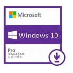 Microsoft Windows Professional 10 32-bit/64-bit All Lng Online Product Key License 1 License Downloadable ESD NR