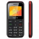 Мобильный телефон Texet TM-B323, черно-красный