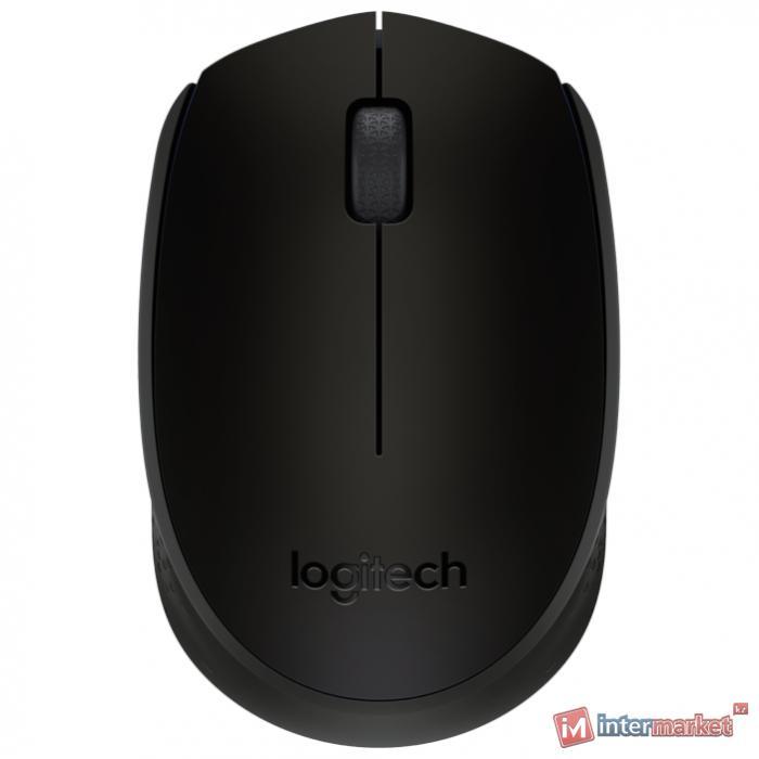 Мышь беспроводная Logitech M171 Wireless Mouse (Black)