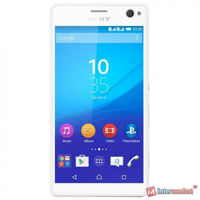 Смартфон Sony Xperia C4 Dual, White
